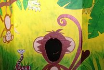 Jungle theme birthday - kupa