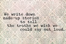 •Words• / ▫Express feelings through written words▫