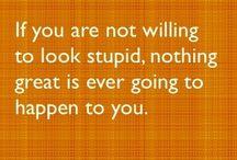 Quotations-inspiring words