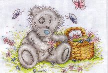 Tatty teddy bear / Punto croce