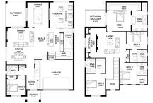Modern Double Storey House Plans