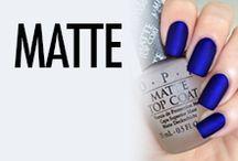 Matte Nail Art & Nail Designs