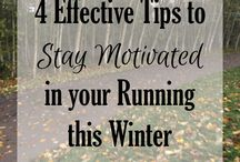 Winter Running / Running, Hiking, and #optoutside in the Cold and Snow
