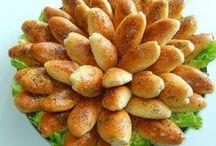 zachte broodjes met gehaakt
