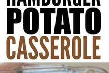 hamburger Cassrole