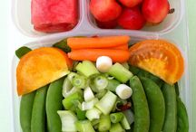 healthy pack and go lunch ideas / by Ashley Rosenberg