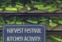 Preserving Garden Vegetables / Links to methods and timing of preserving foods from the garden