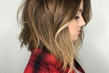 Hair Ideas / Short Bob Styles and Colour