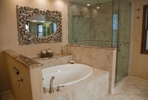 Bathrooms / Beautiful bathrooms by Dream Kitchens.