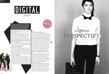 Magazine layout example / Just whats available for examples. References