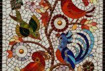 ༺❀༻Mosaic Art Examples | | Ceramic and Tile Art ༺❀༻