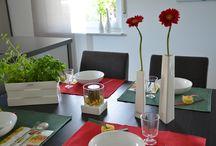 TIZIANO Tischdeko / Hier finden Sie Inspirationen für Ihre Tischdeko zu Hause. Überraschen Sie Ihre Gäste, Freunde und Familie mit einer stilvollen Dekoration.