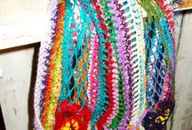 boho style knitting
