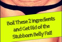 Stubborn  belly fat drink