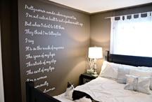 Chalkboard Paint Ideas / by Lietta Ruger