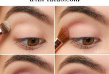 Makeup products and tutorials