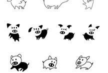 Piiig Logo creation / See the evolution of our Piiig logo