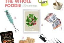 Gift Guides for Food Lovers / You'll find lots of gift ideas for the food lovers on your gift list thanks to these online guides that caught our eye