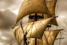navios barcos e veleiros