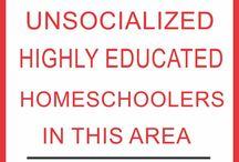 I AM HOMESCHOOLED
