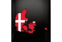 Denmark Flag Map Products