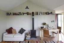 Interiors / Books on walls!