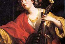 Iconographie archets de violoncelle