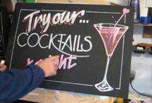 Chalkboard demonstration