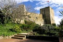 Burgen in der Maremma