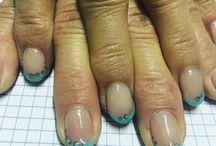 Le mie nail art / #Nail #nailart #gel #gelnailart