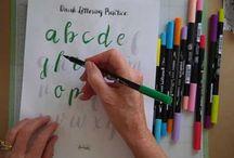 Brushstroke Lettering