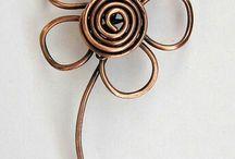 corsage ståltråd