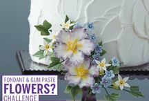 Wilton Advanced Gum Paste Flowers Course - Class Ideas / Ideas for our Wilton Course Students to refer to for their cake creations in Advanced Gum Paste Flowers Course
