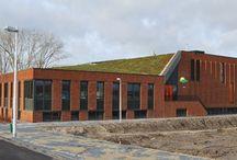 nieuwe school gebouw