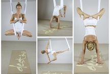 Йога на полотнах