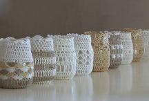Lasipurkkien uusiokäyttöä - reuse glass jars / mihin käytettyjä lasipurkkeja voisi käyttää? - what could you do from recycled glass jars?