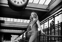 Brief Encounter at Carnforth Station with Geena Hayes / Vintage model photo shoot at Carnforth Station