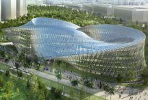 Futuristic Architecture. Arquitectura Futurista