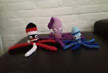 Crochet octopus  / Crochet octopus for the premature babies
