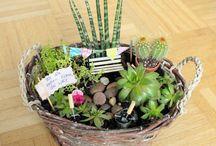 basteln mit Pflanzen