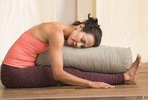 Photos of restorative yoga for legs