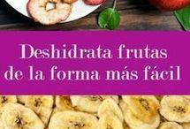 deshidratar fruta