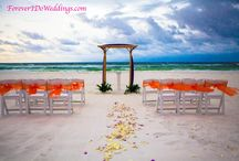 beach wedding decor by Forever I Do Weddings / ideas and inspiration for a beach wedding