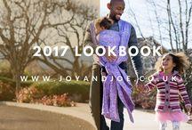 2017 Joy and Joe woven wrap releases