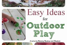 Playground ideas / Economical ideas for our backyard
