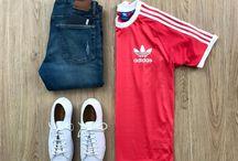 Combinacion camisas adidas