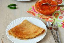 Savory Indian Crepes (Dosa/ Adai)