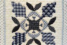 Quilts-Oak Leaf and Reel