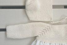 örgü elbise bebek