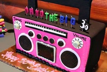 Birthday Cake 1980's theme